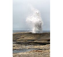 Blow Hole. Bicheno. Tasmania Photographic Print