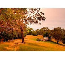 Gumtree Cottage, Adelaide Hills Photographic Print
