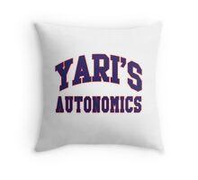 Yari's Autonomics Baseball Team Throw Pillow