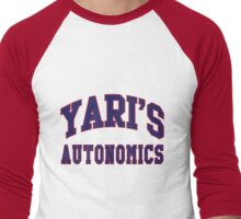 Yari's Autonomics Baseball Team Men's Baseball ¾ T-Shirt