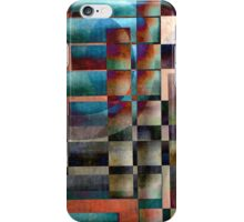 Crossover abstract painting iPhone Case/Skin