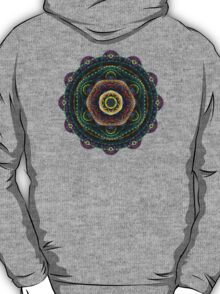 Surreal fractal 3D mandala T-Shirt