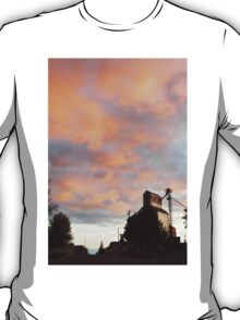 Silo At Sunset T-Shirt