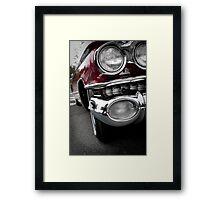 Purple Caddy Framed Print