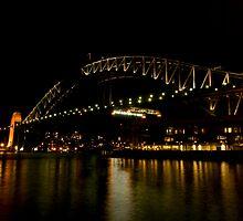 Sydney Harbour Bridge by Richie Wessen