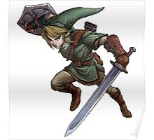 Link jumping Poster