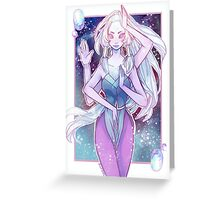 Giant Woman Greeting Card