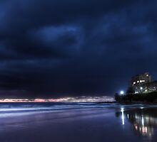 Shelly Beach 6 am Valentines Day by Alexander Kesselaar