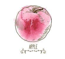 fresh useful eco-friendly apple by OlgaBerlet