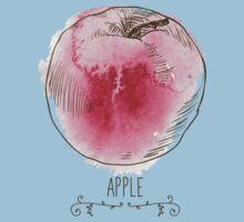 fresh useful eco-friendly apple Baby Tee