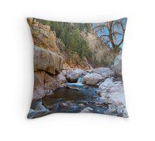 Colorado South St Vrain Canyon  Throw Pillow