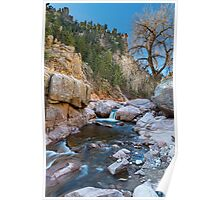 Colorado South St Vrain Canyon  Poster