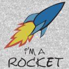 I am a rocket by Dmitry Rostovtsev