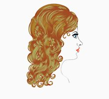 Curly Hairstyle Unisex T-Shirt
