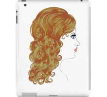 Curly Hairstyle iPad Case/Skin
