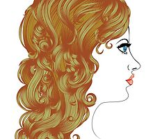 Curly Hairstyle by AnnArtshock