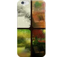 Benches in Season iPhone Case/Skin