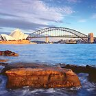 Opera House and Harbour Bridge by Dean Prowd Panoramic Photography