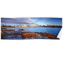 Opera House and Harbour Bridge Poster