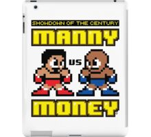 Mega Manny vs. Mega Money iPad Case/Skin