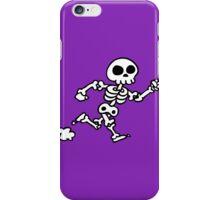 run  skeleton iPhone Case/Skin