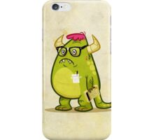 Monster Nerd iPhone Case/Skin