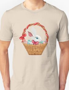Easter Bunny in Basket T-Shirt