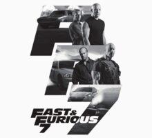FAST & FURIOUS 7 - F&F T-Shirt