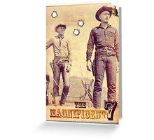 The Magnificent Two Greeting Card