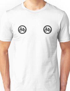 Cycling boobs Unisex T-Shirt