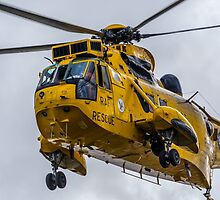 Sea King Helicopter by David Charlton