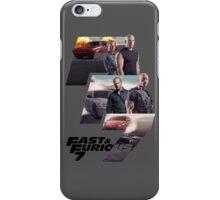 FAST & FURIOUS 7 - DESIGN  iPhone Case/Skin