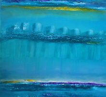 .The Sky Moves Sideways In Between The City Of Dreams by Christine Cholowsky