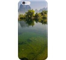 Yu Long River, YangZhuo, Guangxi, China iPhone Case/Skin