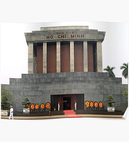 Mausoleum of Ho Chi Minh, Hanoi, Vietnam Poster