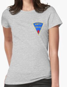 Amity Police Womens Fitted T-Shirt
