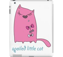 Spoiled Little Cat iPad Case/Skin