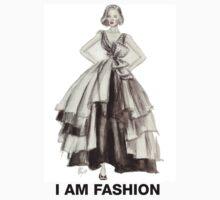 I Am Fashion Too Tee by funcontour