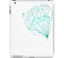 Blue diamond iPad Case/Skin