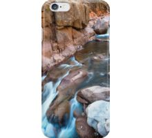 Rocky Mountain Canyon Streaming iPhone Case/Skin