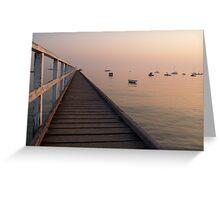 Seamless Horizon Greeting Card