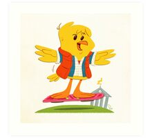 Hoverbird Art Print