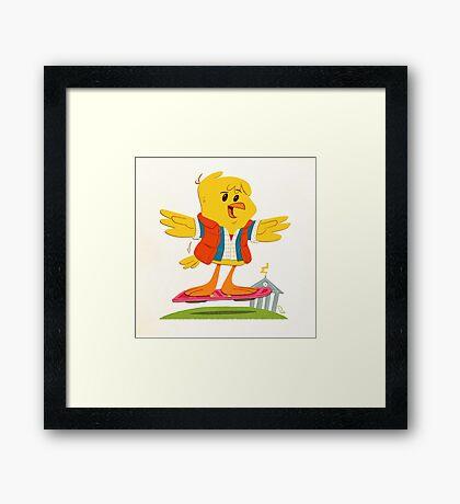 Hoverbird Framed Print