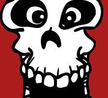 skull funny by huggymauve