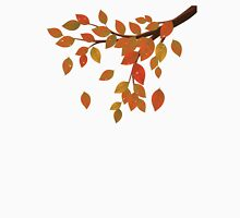 Fall Leaves on Branch Unisex T-Shirt
