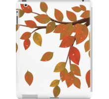 Fall Leaves on Branch iPad Case/Skin
