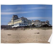 OCEAN HOUSE - A View from East Beach  Poster