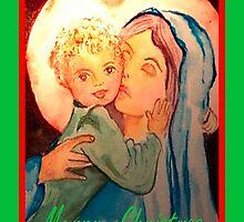 Christmas Kisses by CatholiCARDS