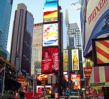 NYC Time Square 2 by Dennis  Stanton