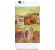 Waiting At Home iPhone Case/Skin